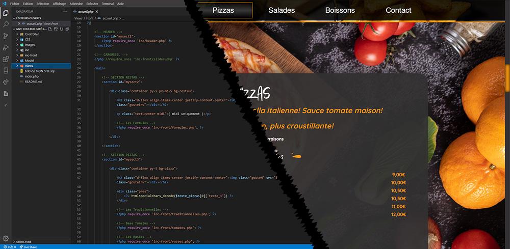 Création de sites internet et graphisme